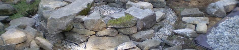 Stone Fire Pit, Baldwin, Maine