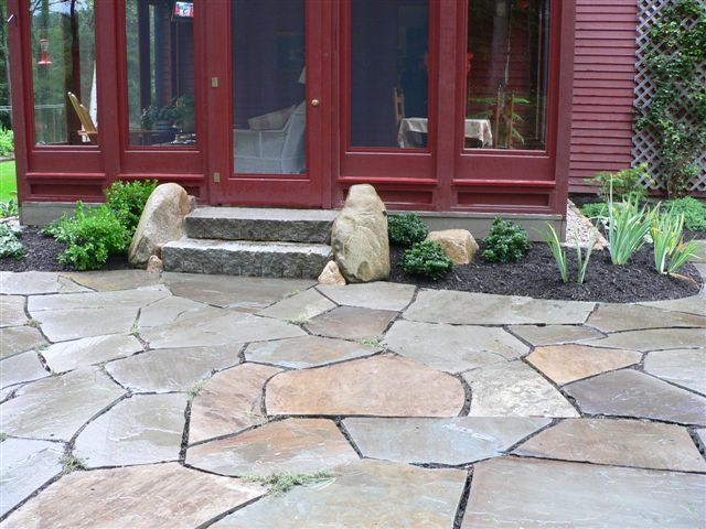 Maine Stonework, Masonry, Hardscaping | Perennial Stone | Bluestone ...