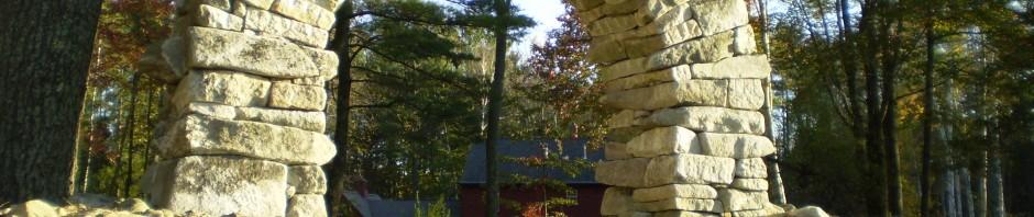 Dry Stone Archway, Baldwin, Maine