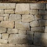 Granite Retaining Wall