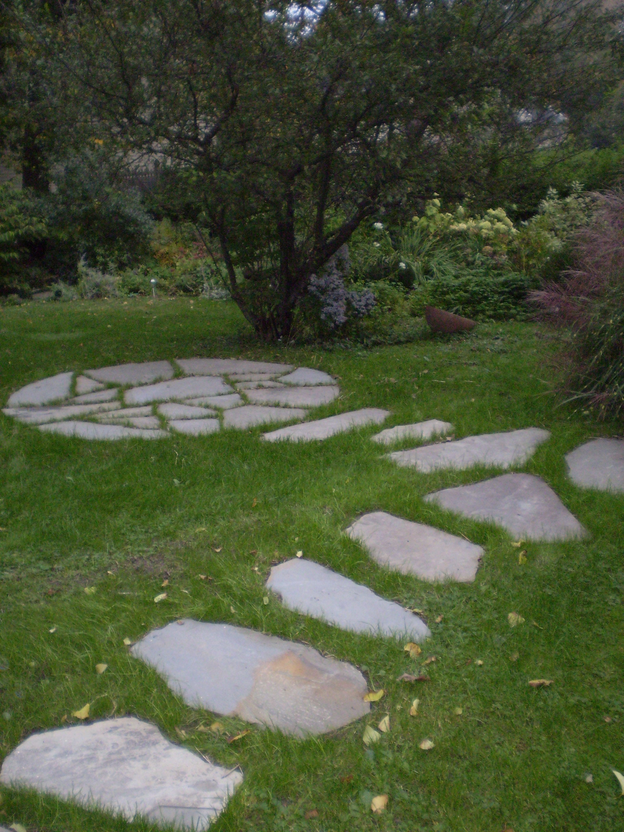 Landscaping Stones Portland Maine : Hardscaping perennial stone tea garden patio portland maine