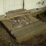 Granite Steps In-Progress